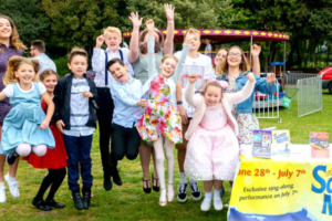 The Sound of Music cast perform in Hythe