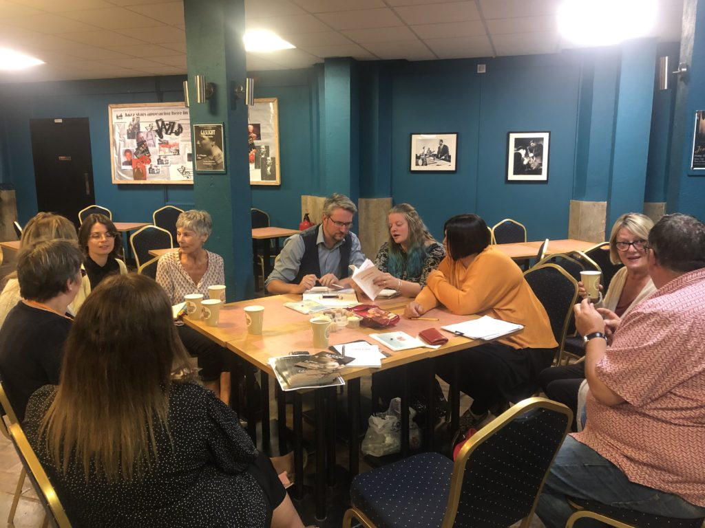 Gaslight cast working with Home-Start Shepway