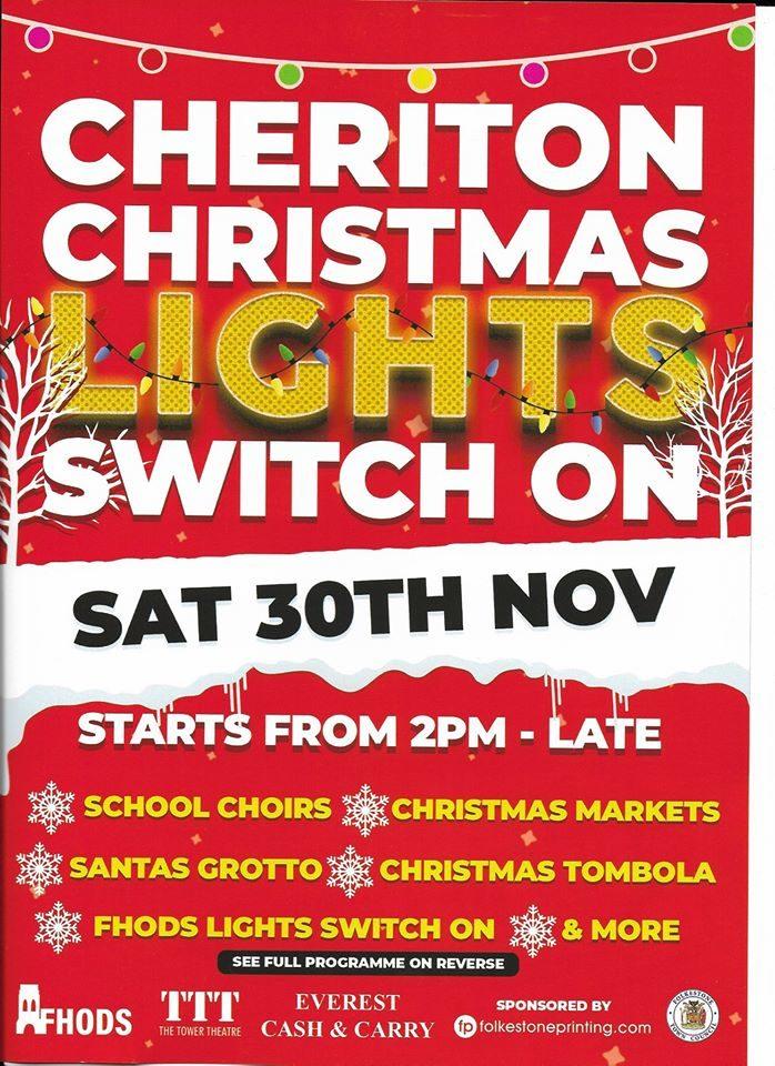Cheriton Lights Switch On
