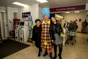 The Panto cast have been out and about!